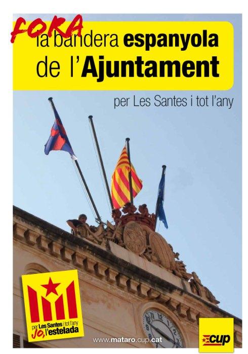 fora la bandera espanyola